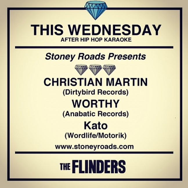 Christian Martin and Worthy at The Flinders