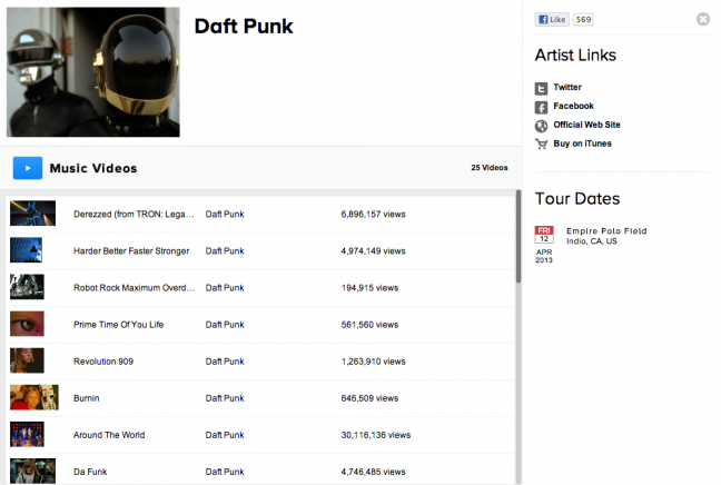 Daft Punk Coachella 2013