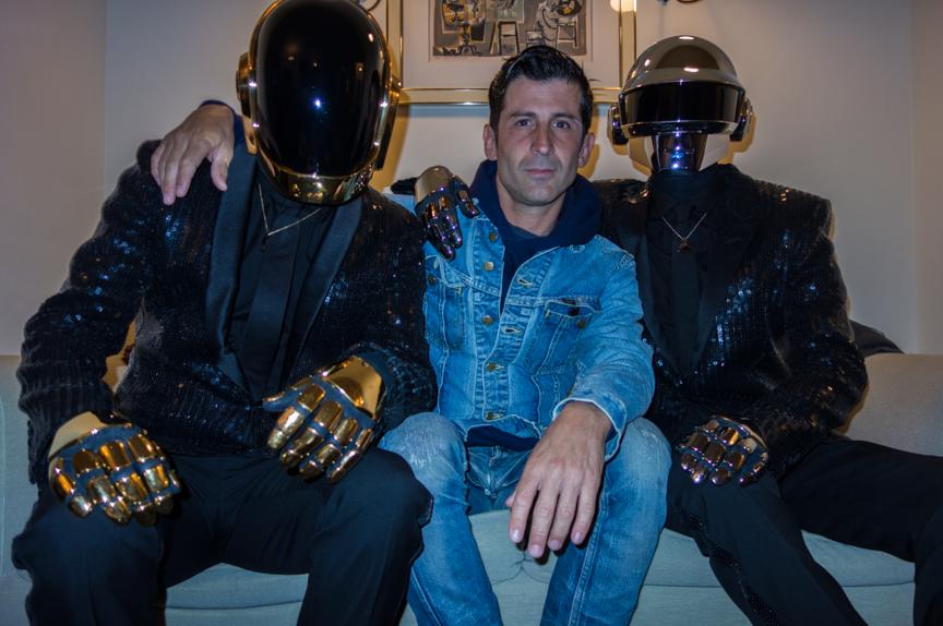 Daft Punk in LA with DJ Falcon
