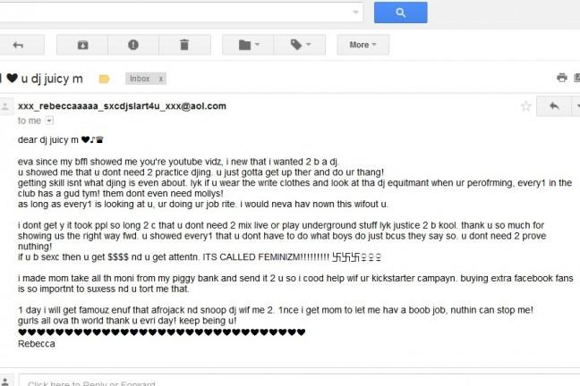 World's Sexiest DJ - email