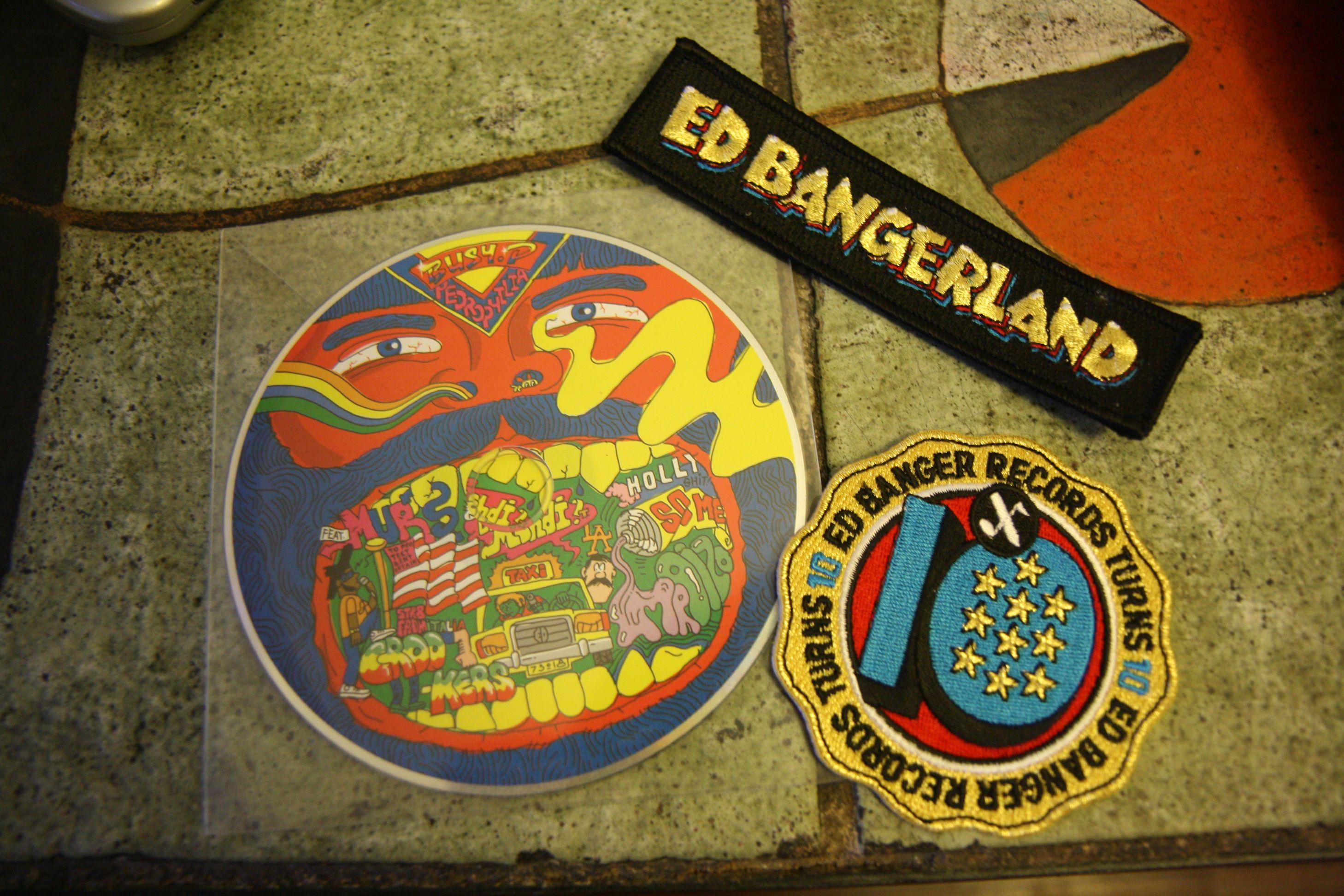 Ed Banger stickers