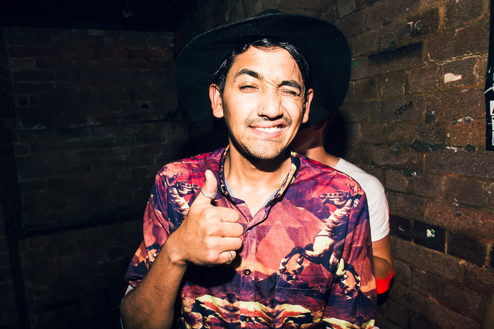 HUDSON MOHAWK AND MR CARMACK AT OXFORD ART FACTORY PHOTO BY VOENA-108