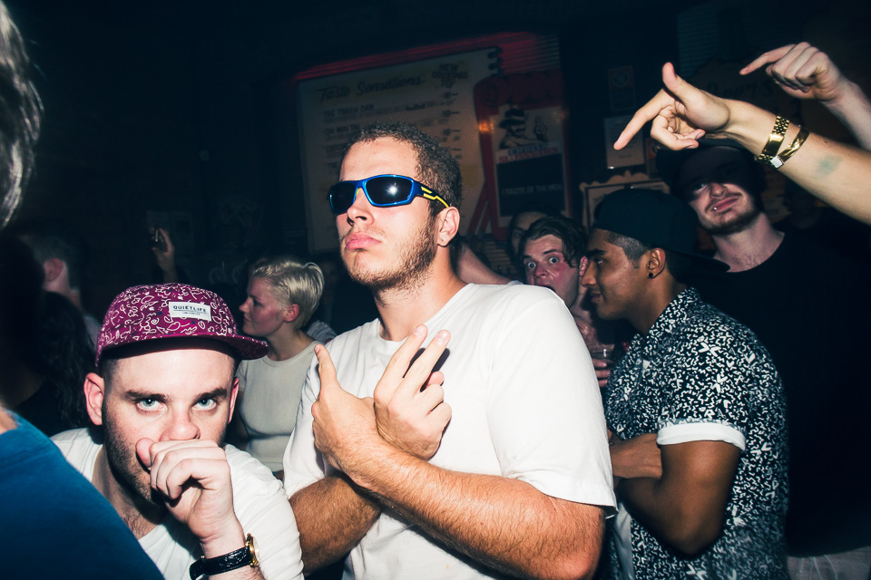 HUDSON MOHAWK AND MR CARMACK AT OXFORD ART FACTORY PHOTO BY VOENA-135
