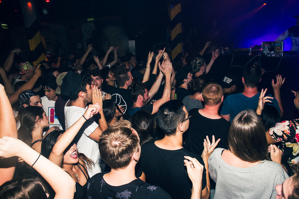HUDSON MOHAWK AND MR CARMACK AT OXFORD ART FACTORY PHOTO BY VOENA-17