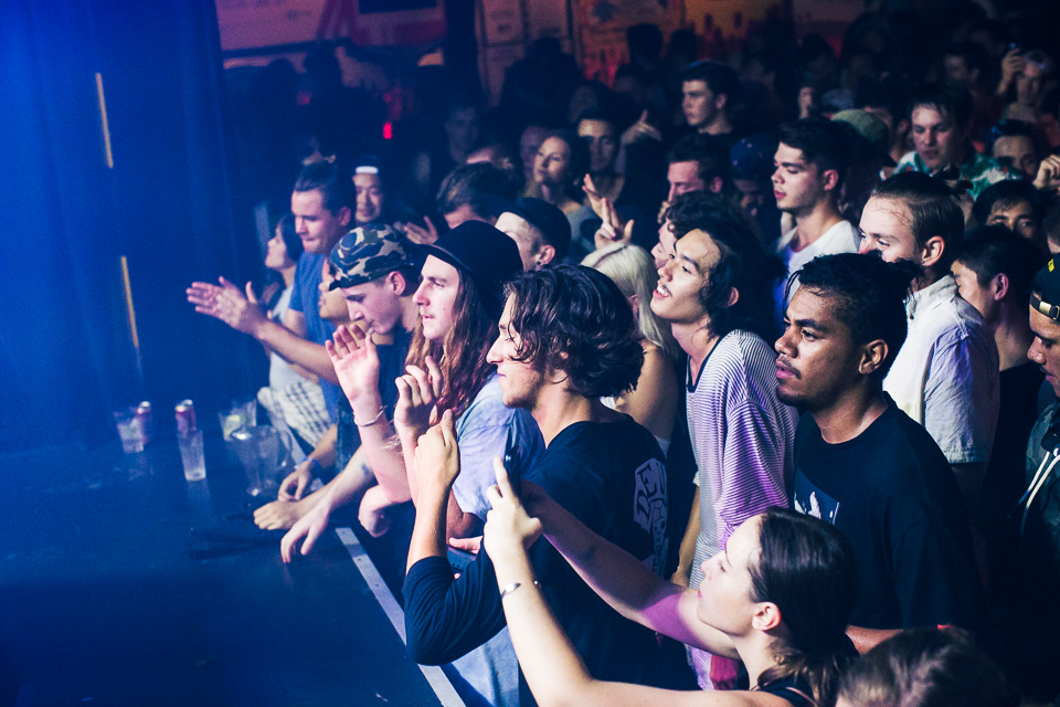 HUDSON MOHAWK AND MR CARMACK AT OXFORD ART FACTORY PHOTO BY VOENA-25