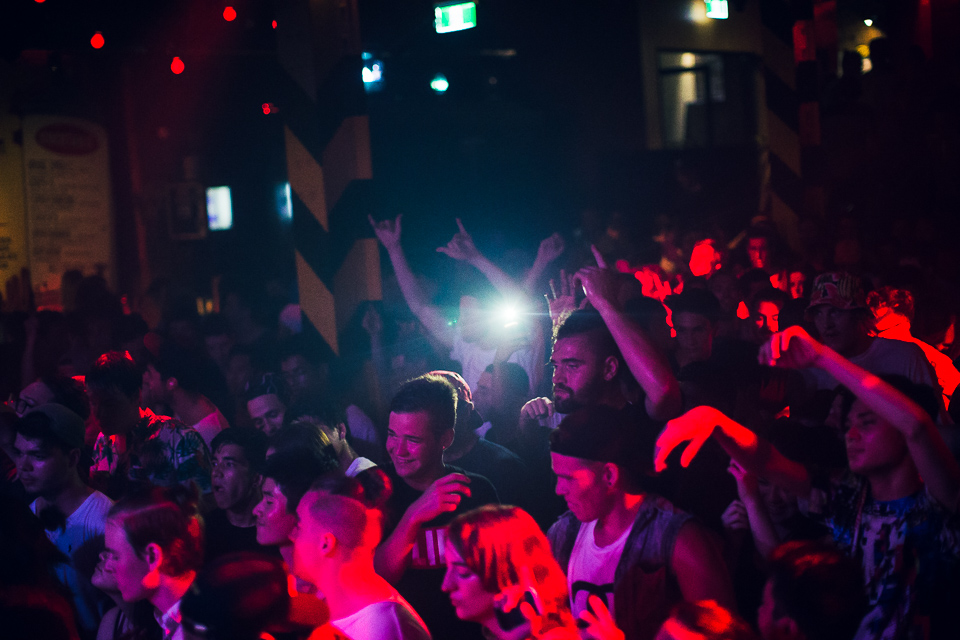 HUDSON MOHAWK AND MR CARMACK AT OXFORD ART FACTORY PHOTO BY VOENA-27