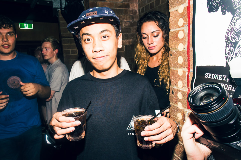 HUDSON MOHAWK AND MR CARMACK AT OXFORD ART FACTORY PHOTO BY VOENA-36