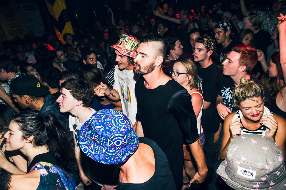HUDSON MOHAWK AND MR CARMACK AT OXFORD ART FACTORY PHOTO BY VOENA-4