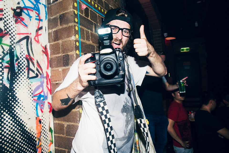 HUDSON MOHAWK AND MR CARMACK AT OXFORD ART FACTORY PHOTO BY VOENA-45