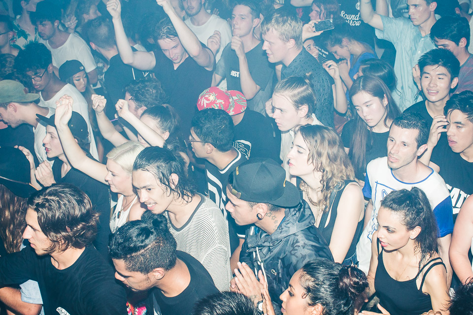 HUDSON MOHAWK AND MR CARMACK AT OXFORD ART FACTORY PHOTO BY VOENA-83