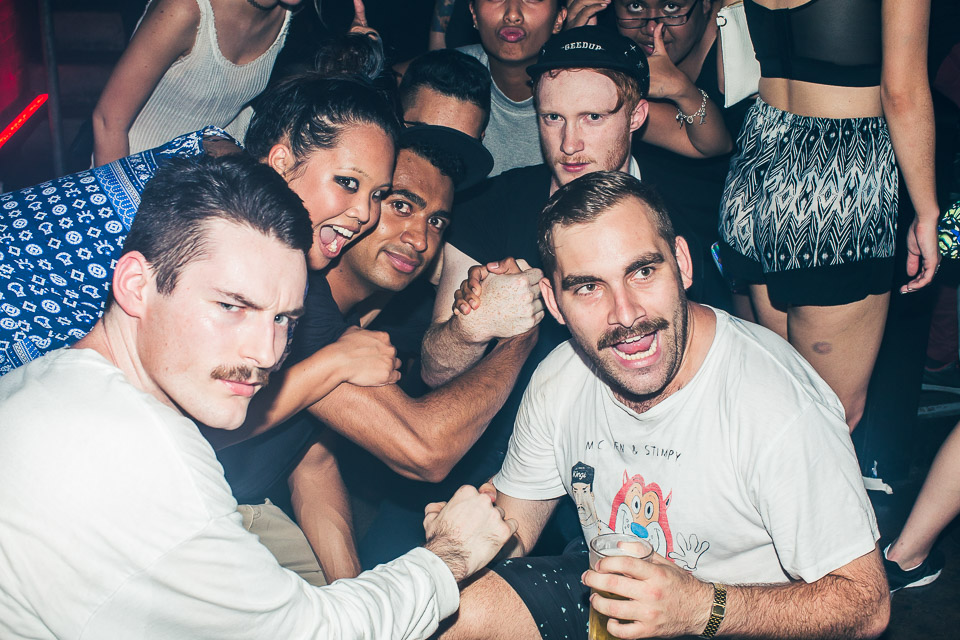 HUDSON MOHAWK AND MR CARMACK AT OXFORD ART FACTORY PHOTO BY VOENA-89