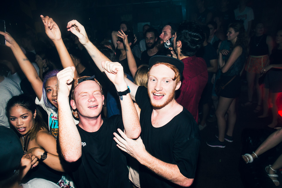 HUDSON MOHAWK AND MR CARMACK AT OXFORD ART FACTORY PHOTO BY VOENA-92