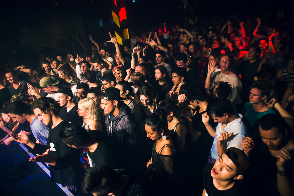 HUDSON MOHAWK AND MR CARMACK AT OXFORD ART FACTORY PHOTO BY VOENA-99