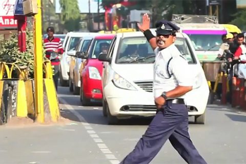 A Dance Revolution Is Happening With Indian Traffic Controllers