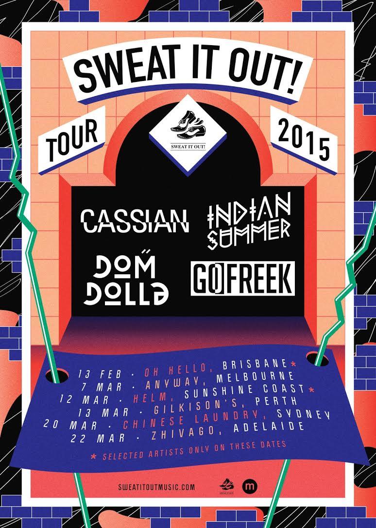 sweat it out cassian tour