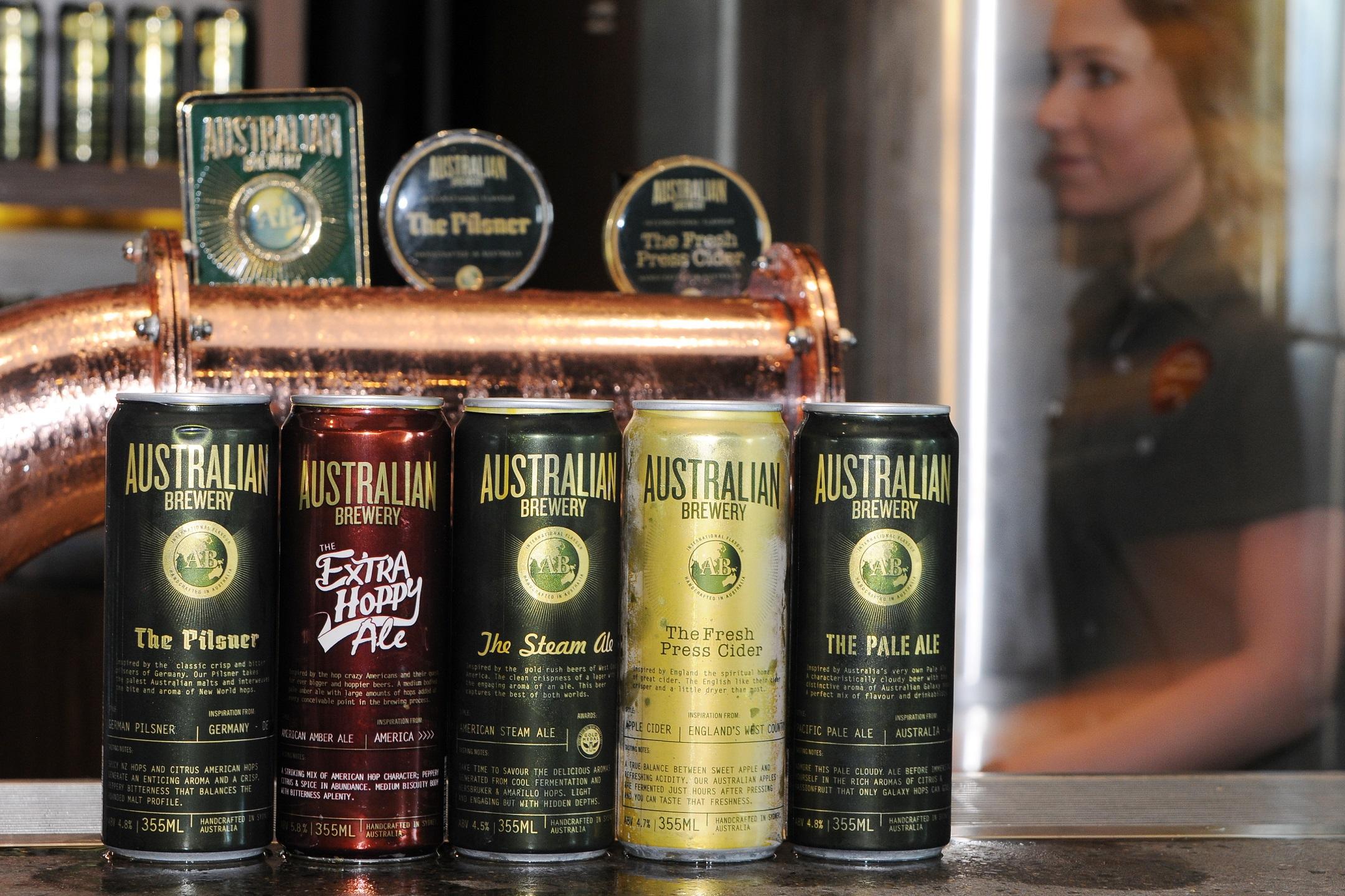 Brewery award winning beers