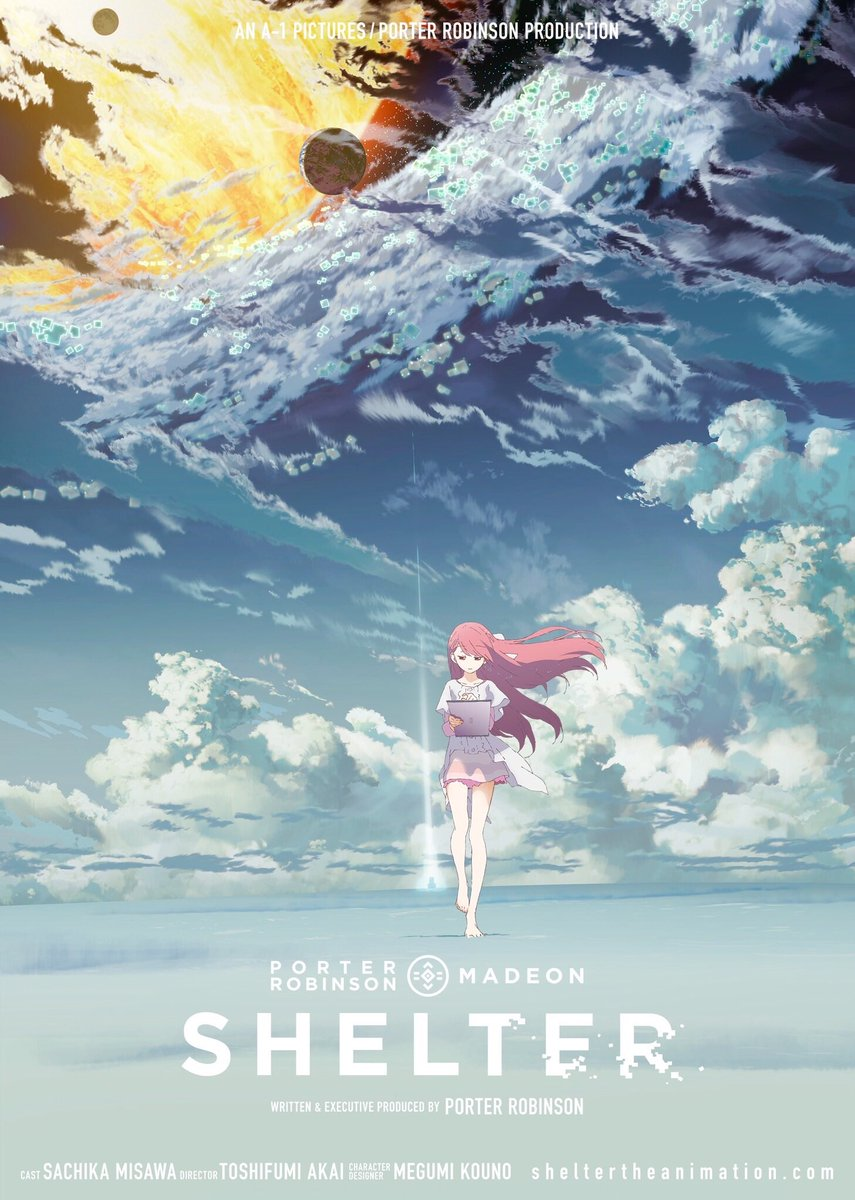 Porter Robinson Announces First Anime Shelter The Animation