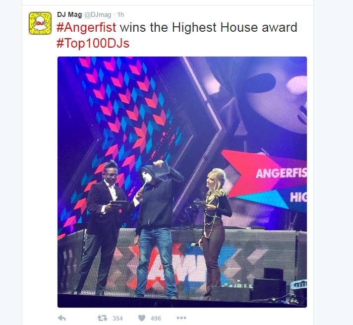 angerfist house award