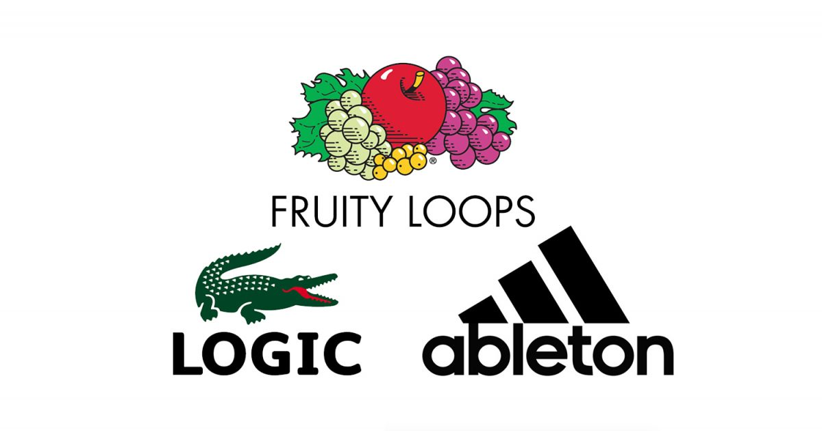 This designer cleverly blends fashion logos with music for Clothing logo design software