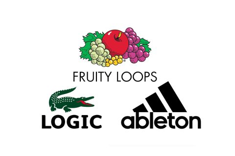 This Designer Cleverly Blends Fashion Logos With Music Software