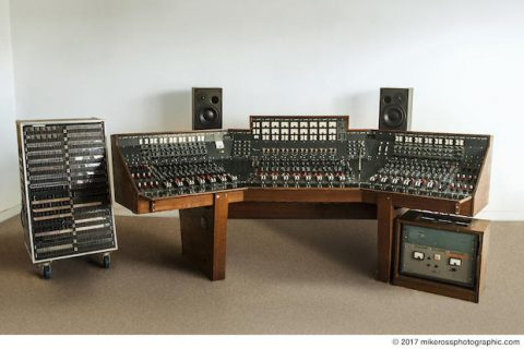 You Can Buy A Classic Recording Console Used By Pink Floyd