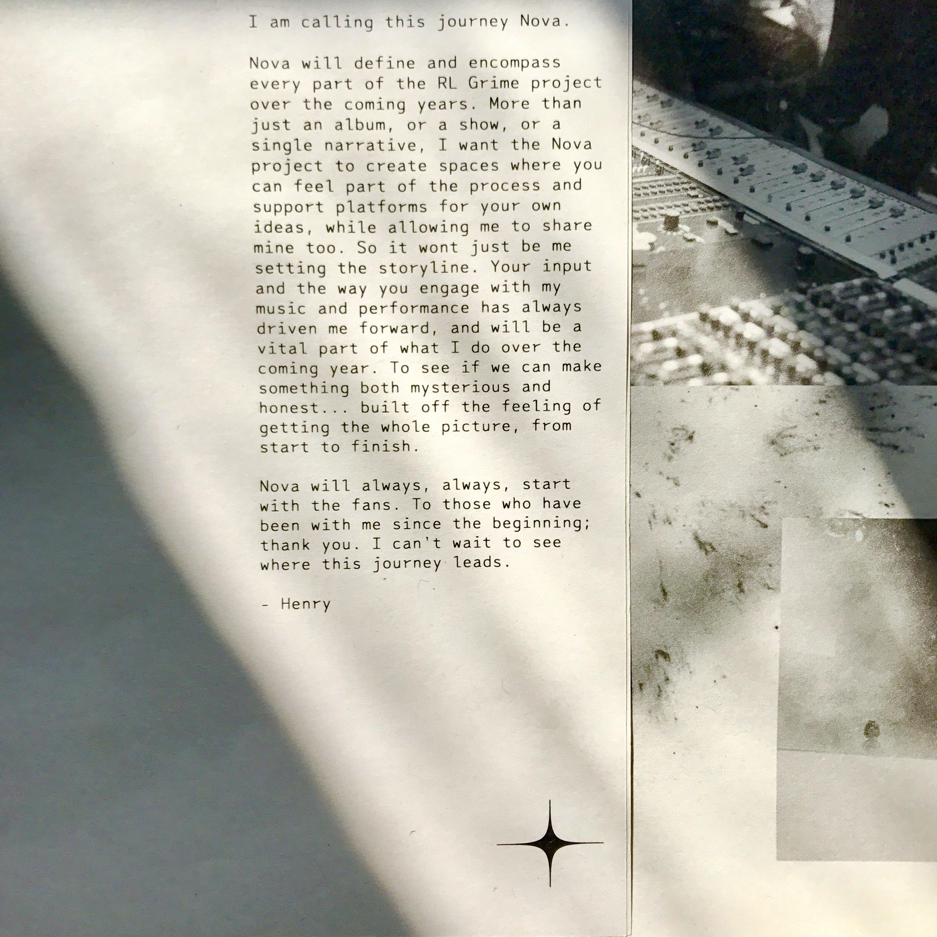 RL Grime details new album 'Nova' in exclusive zine