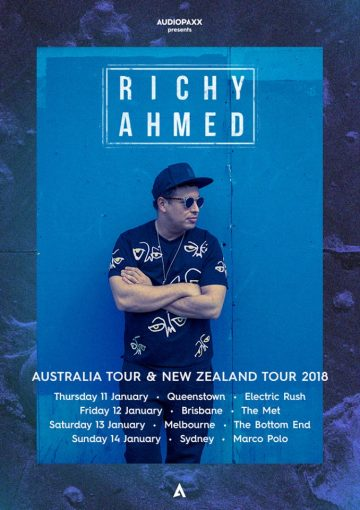 The legendary Richy Ahmed is touring this week!