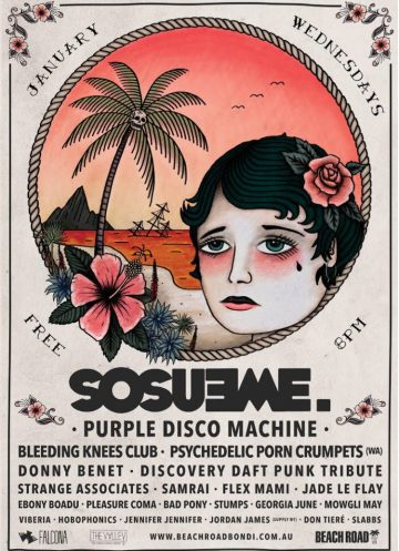 Here is Sosueme's loaded January line-up for 2018