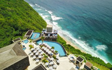 An insanely lush day club is opening in Bali this weekend!