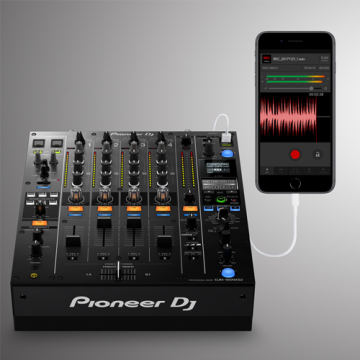 Pioneer has a new app that will record your live mix to your iPhone