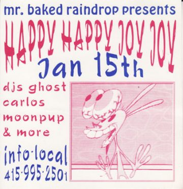 Someone compiled a bunch  vintage rave posters