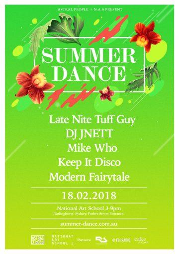 Summer Dance announce Late Nite Tuff Guy, DJ Jnett, Mike Who + more