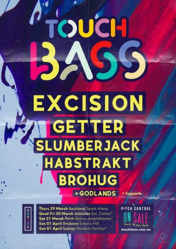 Touch Bass returns with Excision, Getter, Slumberjack and more