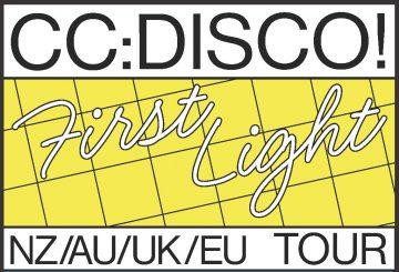 CC:DISCO! announces a massive AU/NZ/UK/EU tour