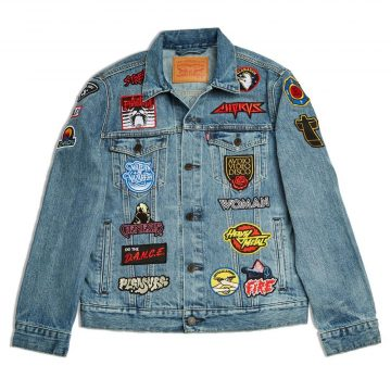 Justice and Levis have created the ultimate denim jacket we all need