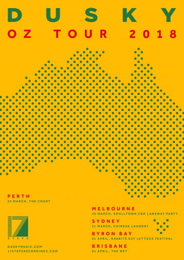 Dusky are coming back to Australia next month so get keen!