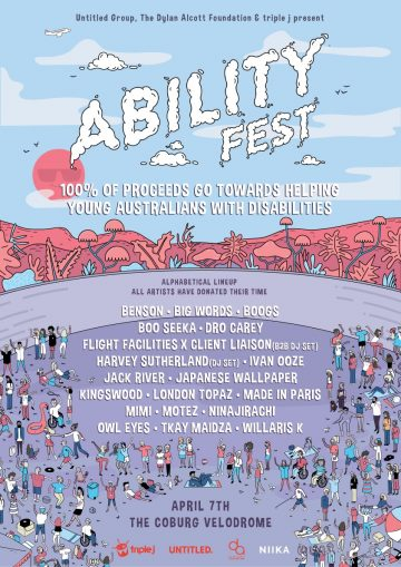 Dylan Alcott kicks f new music festival raising awareness and funds for charity