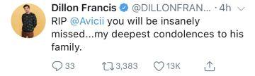 Avicii has passed away at age 28