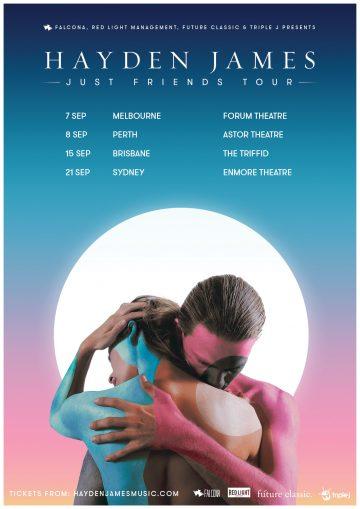 Hayden James announces large-scale Aussie tour