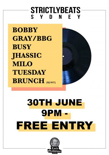 Sydney's Bobby Gray brings disco back on STRICTLYBEATS release, 'Everyday People'