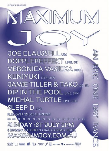 Kings Cross Hotel is getting a full venue house music takeover this Sunday