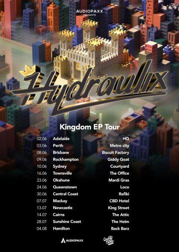 Hydraulix drops hefty new 'Kingdom' EP ft. UZ, Oski and more