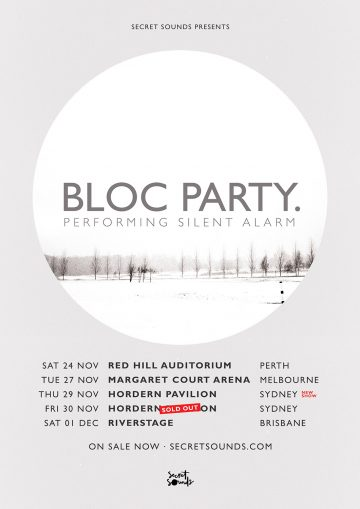 Bloc Party add second Sydney show because everyone loves a nostalgia hit