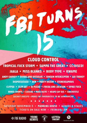 FBi has dropped a huge lineup for their 15th birthday!