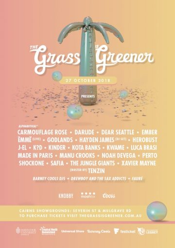 The Grass Is Greener Drops A Massive Lineup!