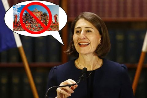 Gladys Berejiklian has just disappointed thousands of NSW